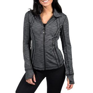 90 Degree by Reflex Charcoal Combo Runner Jacket